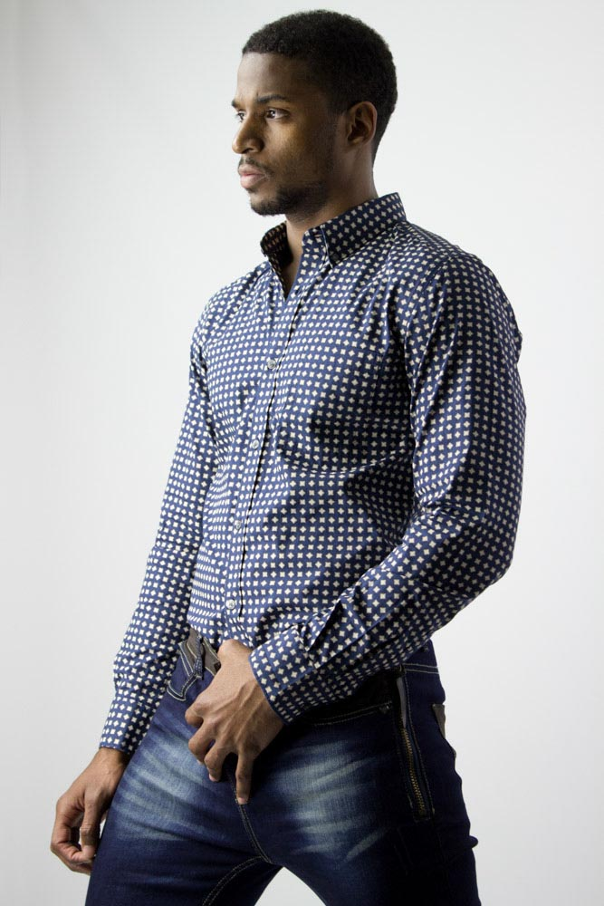 French Connection Diamond shirt for men