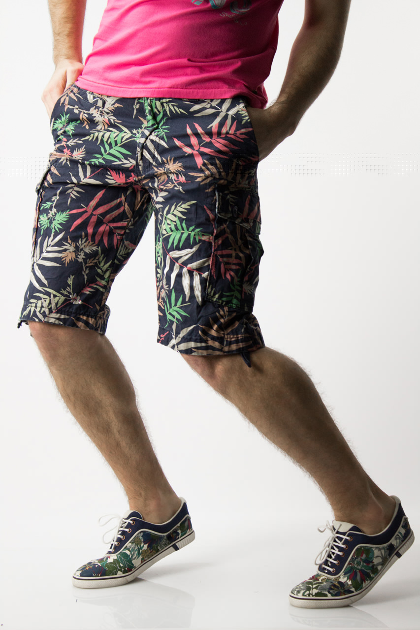 Floral Cargo shorts from Waiquiri