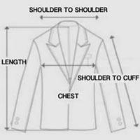 jacket size icon