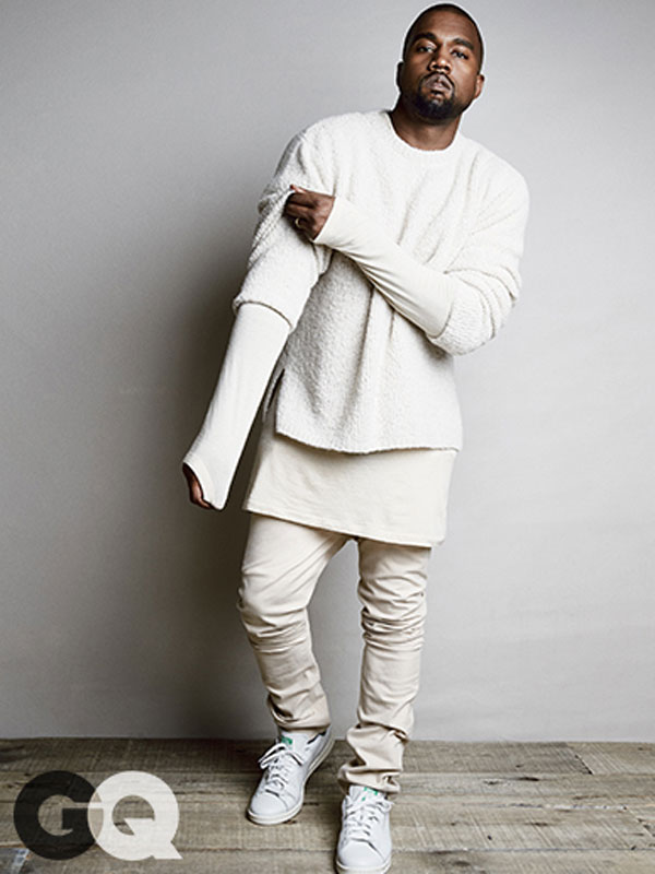 19b457c380d The bold Yeezus Kanye West Voted GQ Most Stylish Man of the Year by GQ  readers